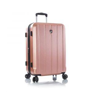 Heys Skořepinový cestovní kufr Para-Lite M Rose Gold 83 l