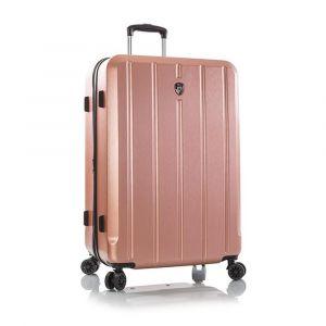 Heys Skořepinový cestovní kufr Para-Lite L Rose Gold 124 l