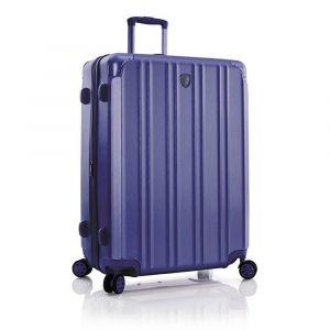 Heys Skořepinový cestovní kufr DuoTrak L Navy 144 l