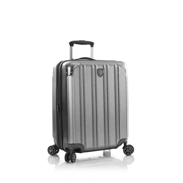 Heys Kabinový cestovní kufr DuoTrak S Charcoal 57 l