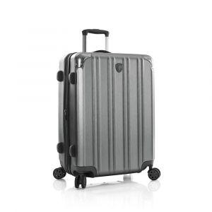 Heys Skořepinový cestovní kufr DuoTrak M Charcoal 93 l