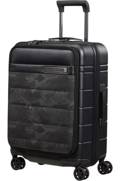 Samsonite Kabinový cestovní kufr Neopod EXP Easy Access 41/48 l – vzor/černá
