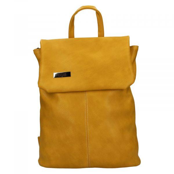 Dámský batoh Ellis Martha – žlutá