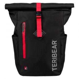 BAAGL Zavinovací batoh TERIBEAR 17 l černý