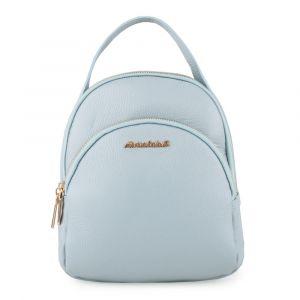 Marina Galanti Dámský kožený batoh MBP002BK1 – světle modrá