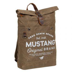 Velký trendy batoh Mustang Lindr – písková