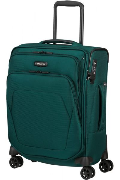 Samsonite Kabinový cestovní kufr Spark SNG ECO S 40 cm 43 l – tmavě zelená
