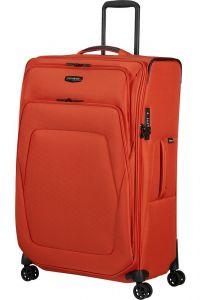 Samsonite Látkový cestovní kufr Spark SNG ECO L EXP 124/140 l – oranžová