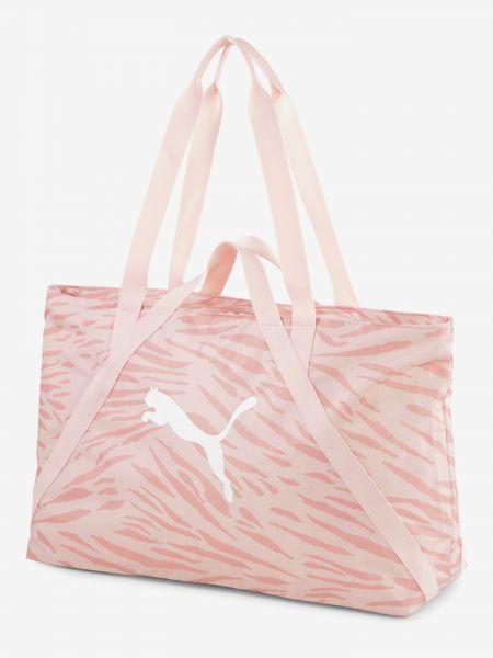 AT Essentials Sportovní taška Puma Růžová 1066795