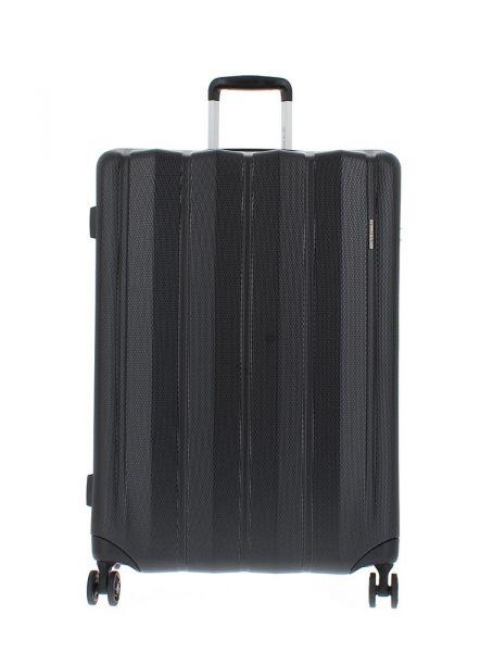 Marina Galanti Skořepinový cestovní kufr L 89004-28 100 l – černá