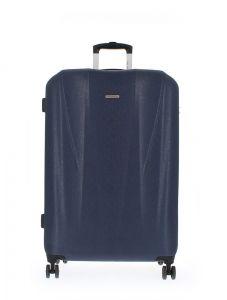 Marina Galanti Skořepinový cestovní kufr L 89006-28 106 l – tmavě modrá