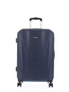 Marina Galanti Skořepinový cestovní kufr M 89006-24 67 l – tmavě modrá
