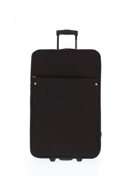 Marina Galanti Látkový cestovní kufr M 89007-26 60 l – černá