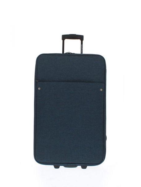 Marina Galanti Látkový cestovní kufr M 89007-26 60 l – modrá