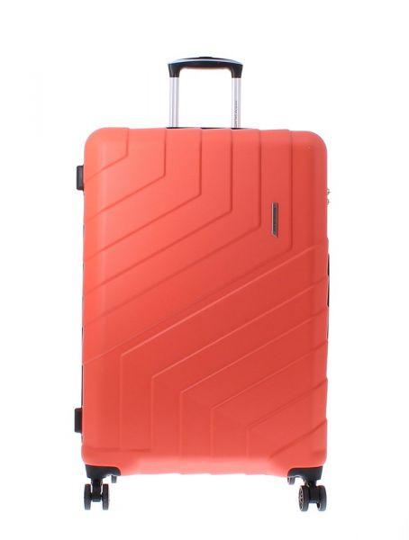 Marina Galanti Skořepinový cestovní kufr L 89008-28 92 l – červená