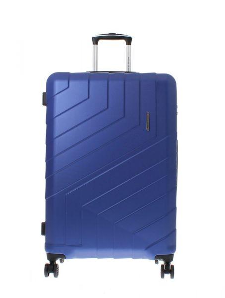 Marina Galanti Skořepinový cestovní kufr L 89008-28 92 l – modrá