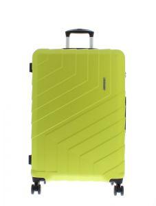 Marina Galanti Skořepinový cestovní kufr L 89008-28 92 l – zelená