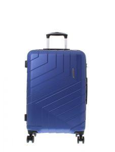 Marina Galanti Skořepinový cestovní kufr M 89008-24 57 l – modrá