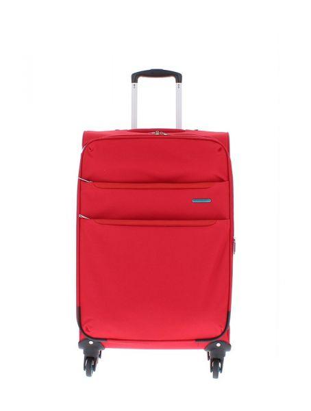 Marina Galanti Látkový cestovní kufr M 89002-24 86 l – červená