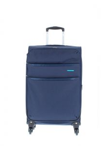 Marina Galanti Látkový cestovní kufr M 89002-24 86 l – modrá