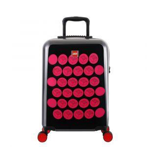 LEGO Luggage Kabinový cestovní kufr ColourBox Brick Dots 40 l černý