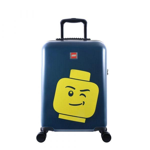 LEGO Luggage Kabinový cestovní kufr ColourBox Minifigure Head 40 l modrý
