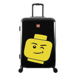 LEGO Luggage Skořepinový cestovní kufr ColourBox Minifigure Head 70 l černý