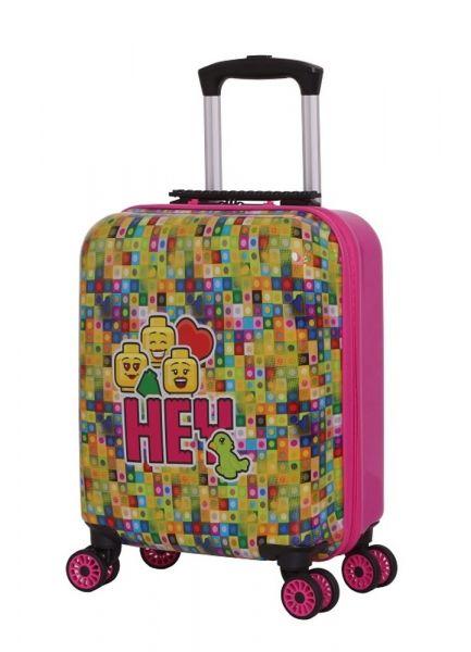 LEGO Luggage Dětský cestovní kufr LEGO minifigures Hey 30 l