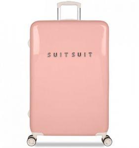 Cestovní kufr SUITSUIT® TR-1202/3-L – Fabulous Fifties Papaya Peach