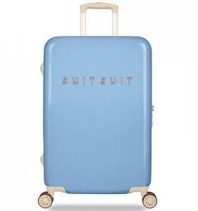 Cestovní kufr SUITSUIT® TR-1204/3-M – Fabulous Fifties Alaska Blue