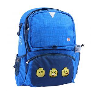 LEGO Školní batoh Faces Blue Freshmen 20 l