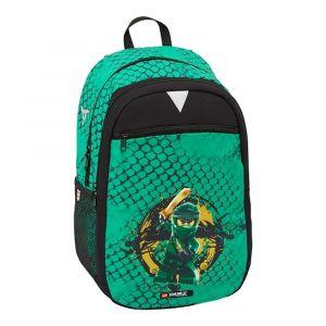 LEGO Dětský batoh Ninjago Green Extended 23 l