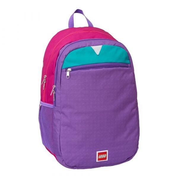 LEGO Dětský batoh Pink/Purple Extended 23 l