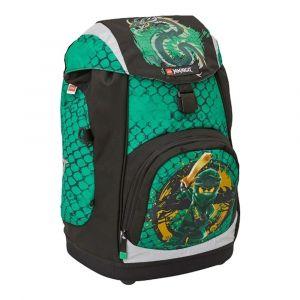 LEGO Školní batoh Ninjago Green Nielsen 15 l