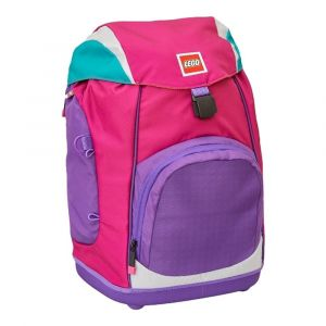 LEGO Školní batoh Pink/Purple Nielsen 15 l