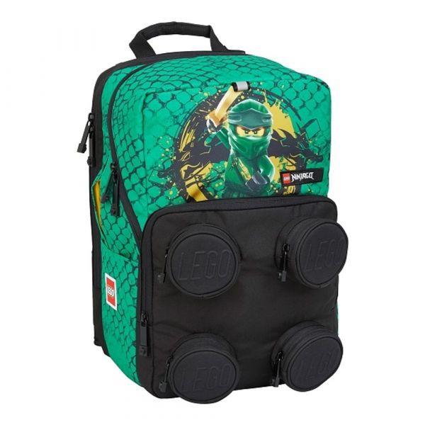 LEGO Školní batoh Ninjago Green Petersen 23 l