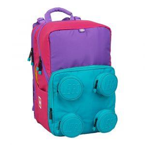 LEGO Školní batoh Pink/Purple Petersen 23 l