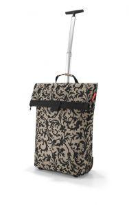 Reisenthel Nákupní taška na kolečkách M Baroque Taupe 43 l