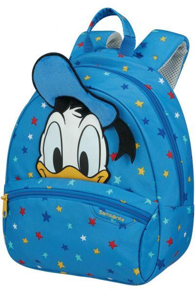 Samsonite Dětský batoh Disney Ultimate 2.0 S Donald Stars 5 l – modrá