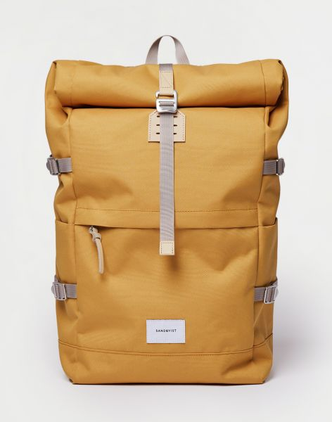 Sandqvist Bernt Yellow with Natural Leather 20 l