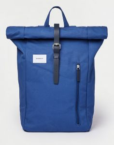 Sandqvist Dante Blue with Blue leather