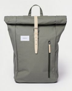 Sandqvist Dante Dusty Green with natural leather