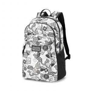 Puma | Academy Backpack Puma White-Puma Black-Archive AOP