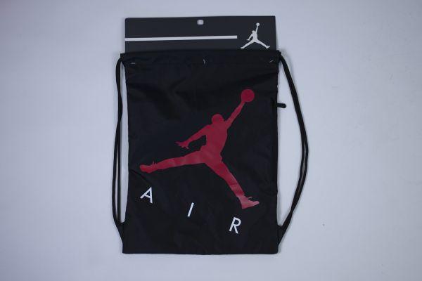 Jan air drawstring gym sack BLACK