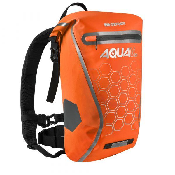 Vodotěsný batoh Oxford Aqua V20 Backpack 20l oranžová