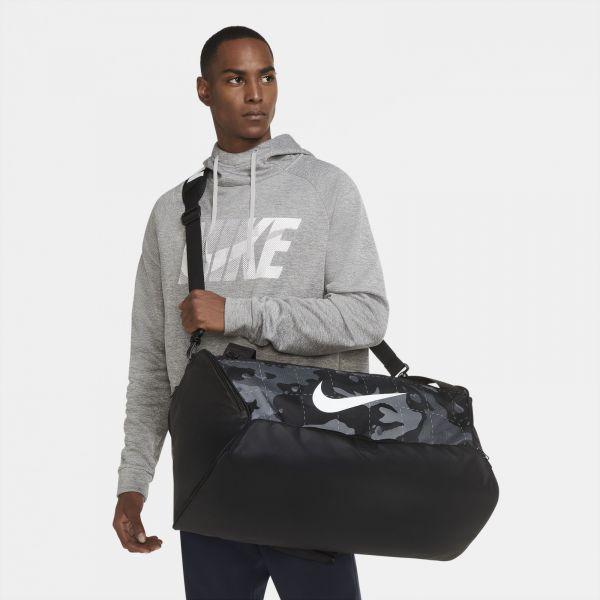 Nike Brasilia SMOKE GREY/BLACK/WHITE