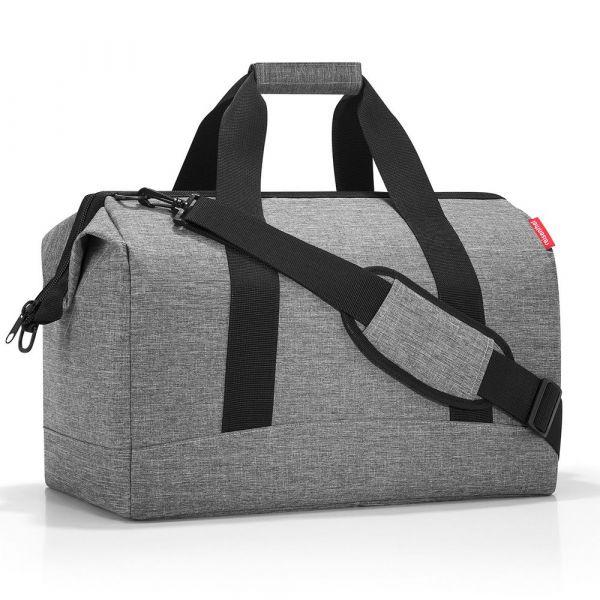 Reisenthel Cestovní taška Allrounder L Twist Silver 30 l