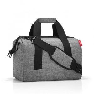 Reisenthel Cestovní taška Allrounder M Twist Silver 18 l