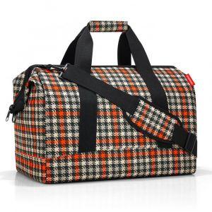 Reisenthel Cestovní taška Allrounder L Glencheck Red 30 l