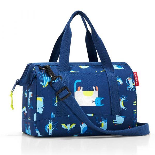 Reisenthel Dětská cestovní taška Allrounder XS Abc friends blue 5 l